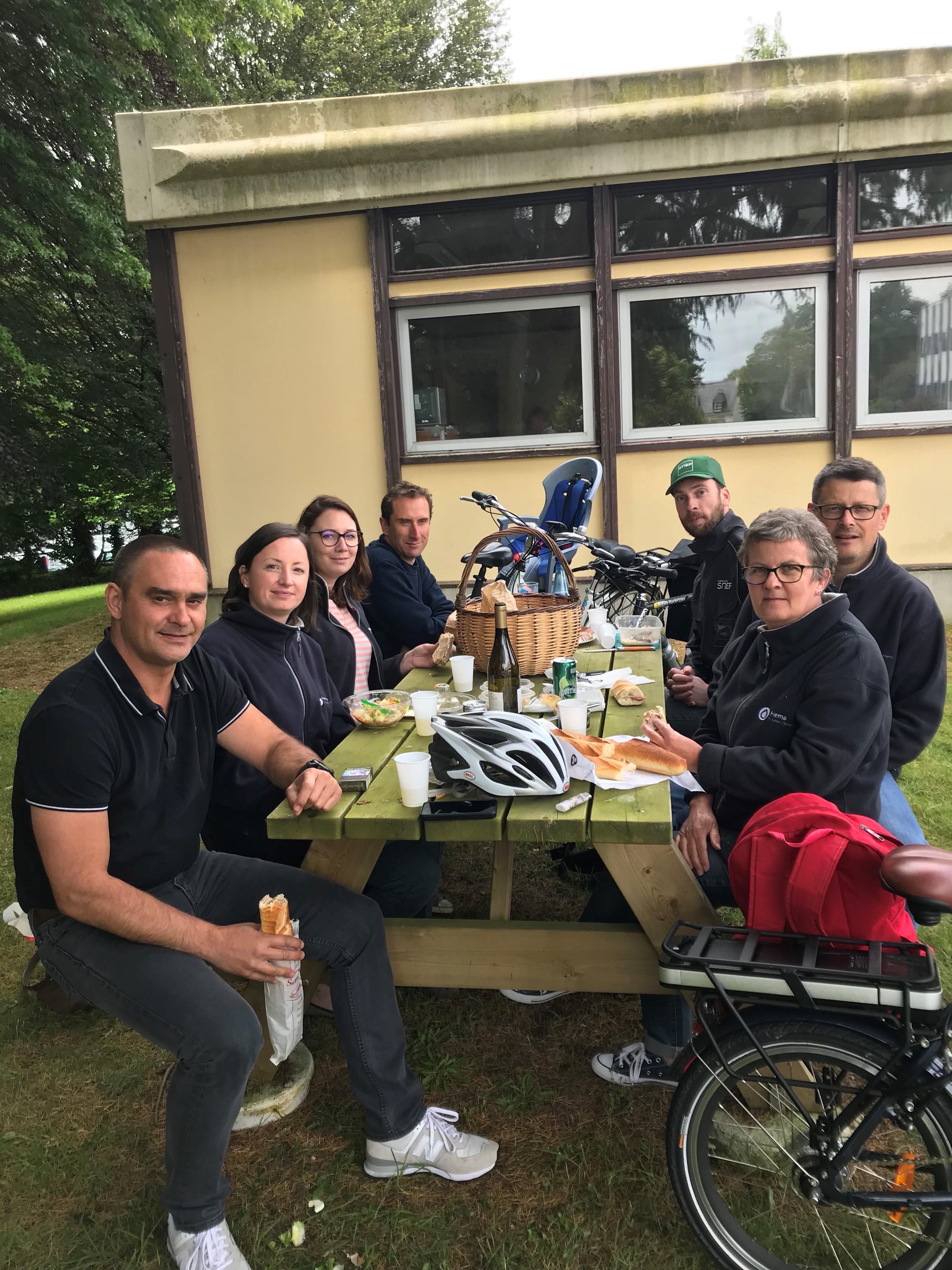 Mélodie Le Borgne – Esprit d'équipe