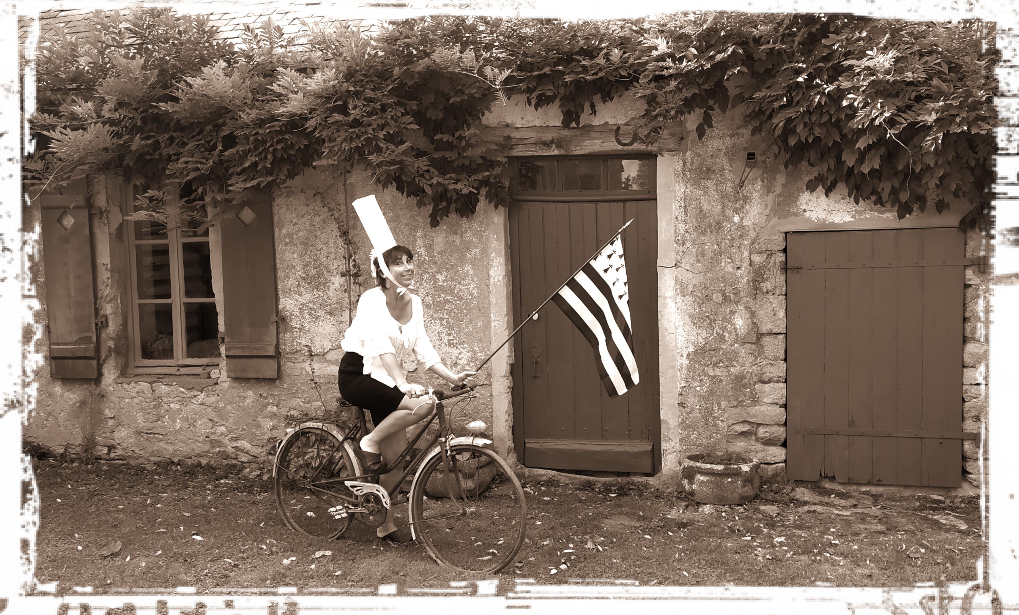 MORGANE DIVERRES – Tradicyclette