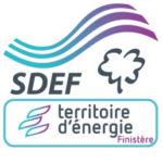 Logo du groupe SDEF (Syndicat Départemental d'Energie du Finistère)